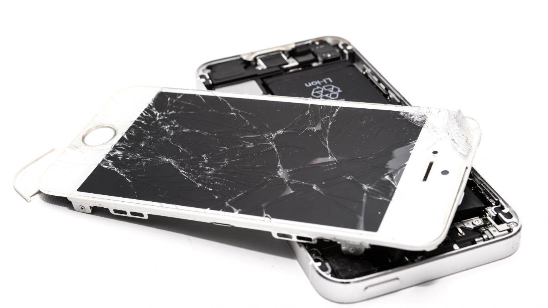 Mijn Iphone heeft een barst in het scherm, wat nu